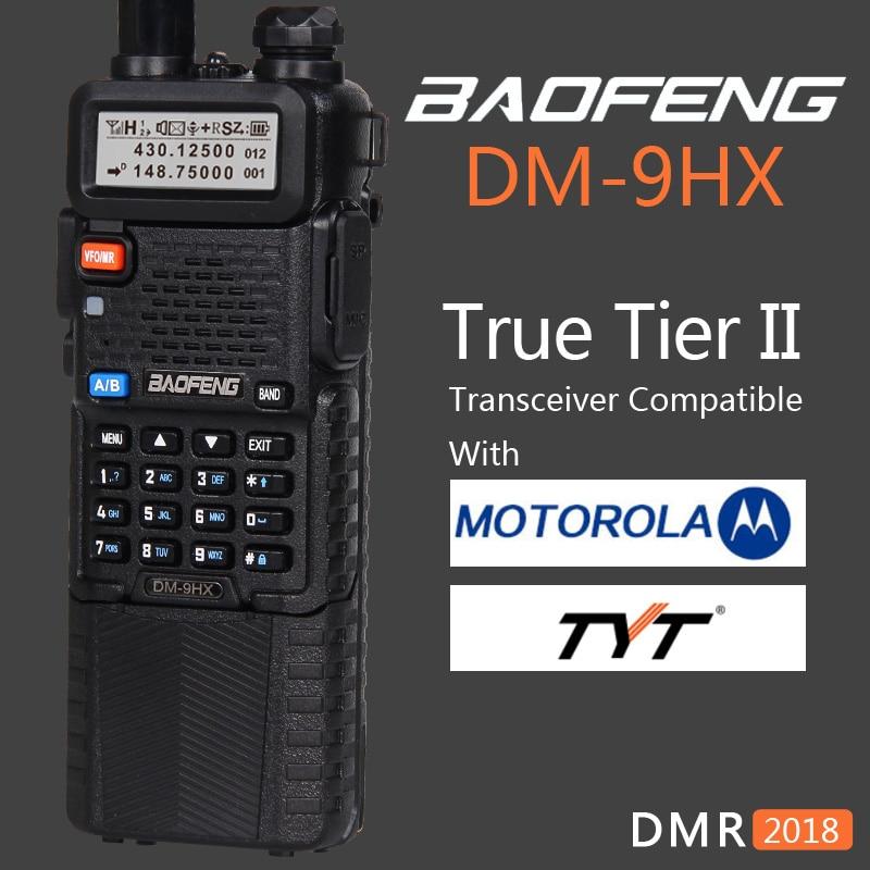 Baofeng 2021 ثنائي النطاق الطبقة 2 II DMR الرقمية اتجاهين راديو لاسلكي تخاطب DM-8HX شقيقة محطة راديو DM-5R زائد UV-5R UV5R UV 5R