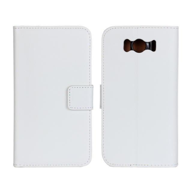 Para HTC G21 Funda de cuero genuino de alta calidad funda de cartera para HTC Sensation XL G21 con tarjetero y función de soporte