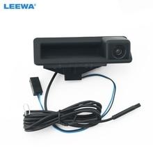 LEEWA-caméra de stationnement pour BMW   CCD, voiture, poignée de coffre, caméra pour BMW 5 séries/3 séries/X6/X5/X1/320i/335i, taille dorigine