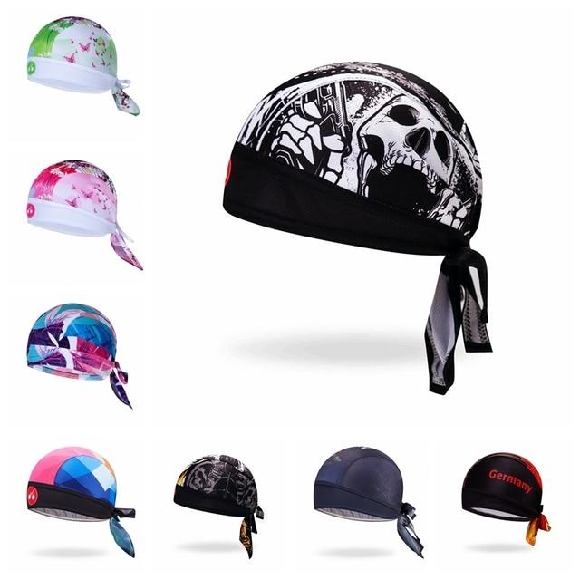 2019 Cycling Cap Head Scarf Men Women Bike bicycle MTB hats Sports Running Bandana Headscarf Ciclismo Pirate Hat Headband Skull