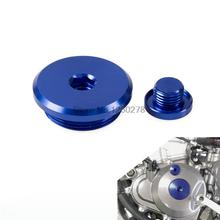 NICECNC bouchon de moteur de moto   Bouchon de carter pour Yamaha GRIZZLY 700 550 RHINO 700 RAPTOR 700R YFZ450R YFZ450X