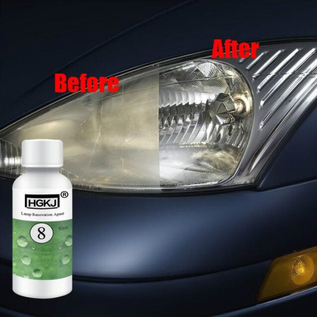 20ML de coche polaco Len restauración Kit faro agente brillo faro reparación lámpara renovación agente pintura cuidado, auto, estilo