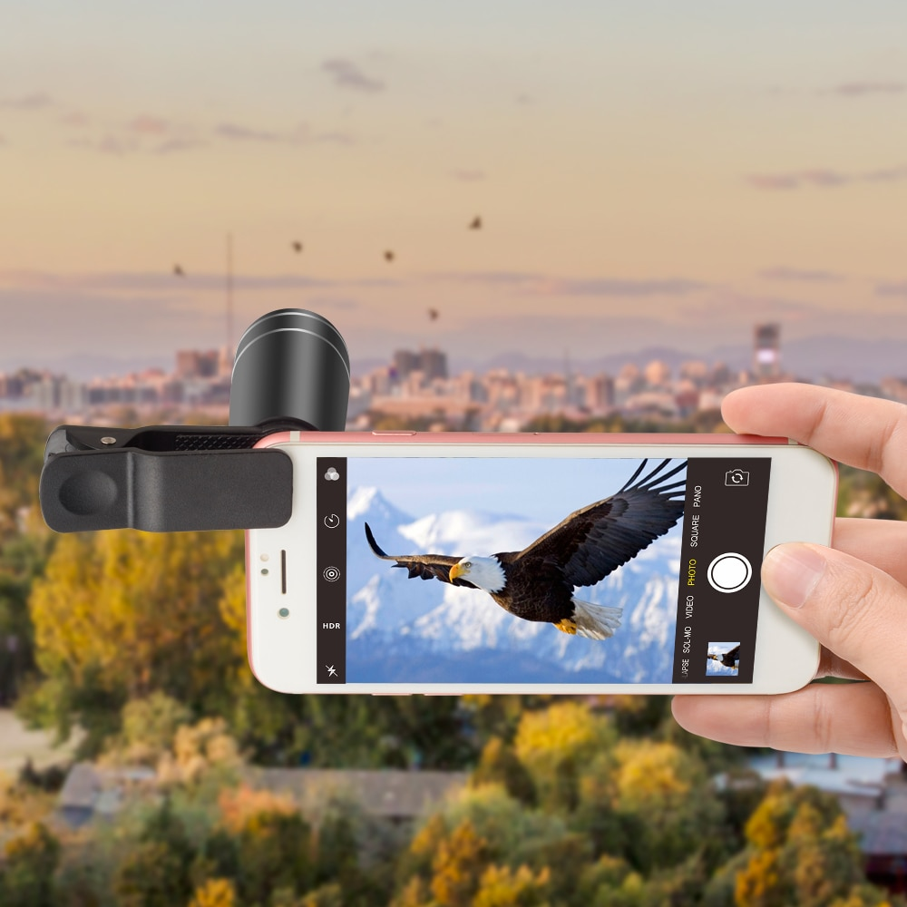 APEXEL 1 Set Lens 10 in 1 phone Camera Lens Kit Fish Eye Wide Macro Star Filter CPL Lenses for iPhone XS Mate Samsung HTC LG