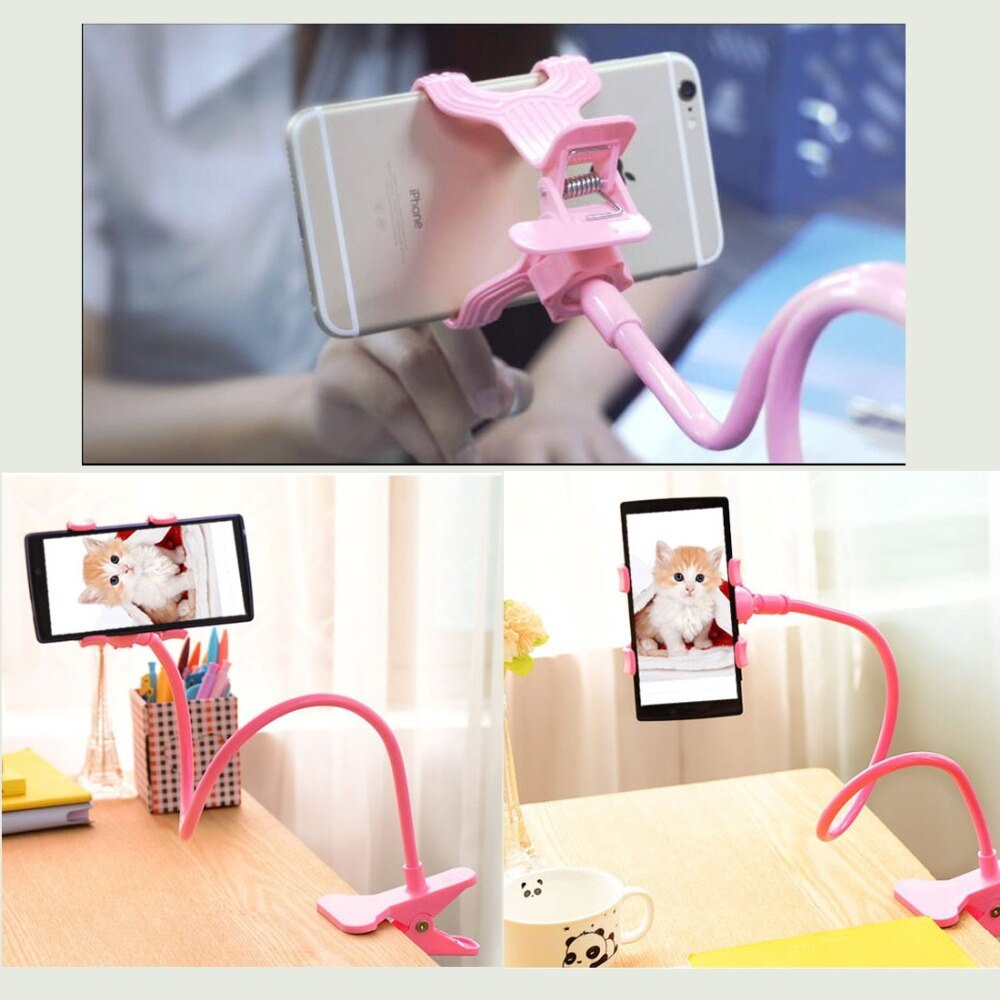 HAWEEL Universal Lazy Bracket Desktop Headboard Bedside Car Phone Holder Stand Tablet Mount Multifunctional Flexible Long Arm enlarge