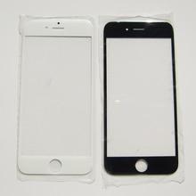 Pièces de rechange de lentille extérieure en verre avant pour iPhone 7 5 5S 4 4S 6 6S Plus réparation décran tactile