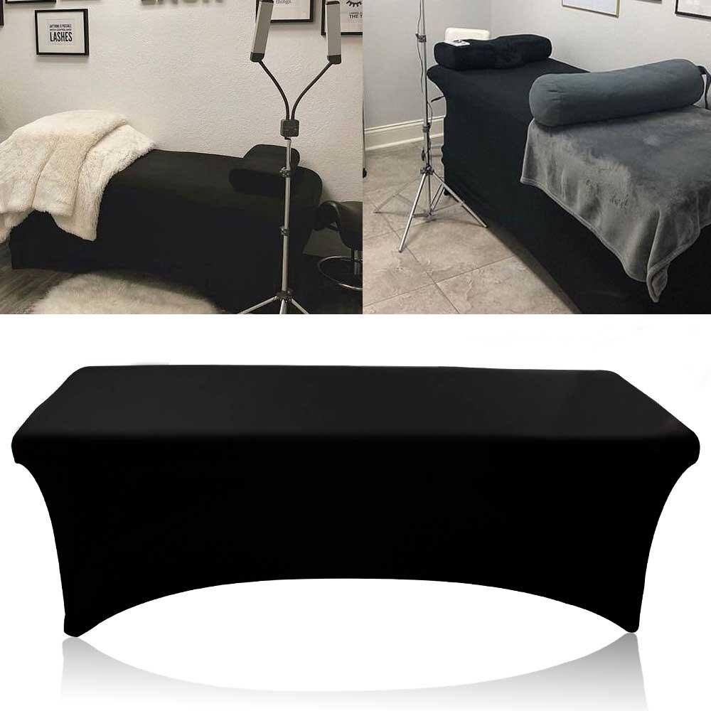 Extensión elástica de pestañas sábanas de cama cubierta especial estirable inferior Cils hoja de Mesa para el salón de maquillaje profesional de la cama de pestañas
