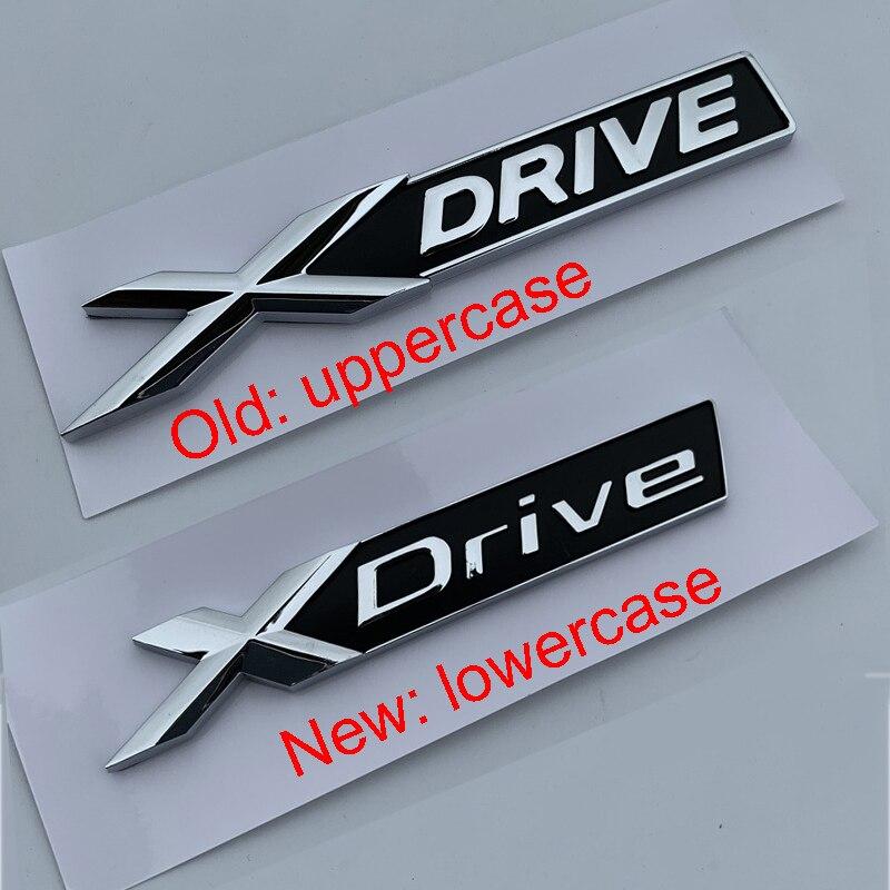Новый старый X диск хром и черный бар эмблема наклейка для BMW новый 3 5 7 серии автомобилей Стайлинг крыло багажник все колеса диск логотип