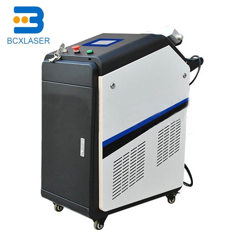 Gran calidad a bajo precio, máquina de limpieza láser de fibra para eliminación de óxido, 30W 50W 100W 200W en China
