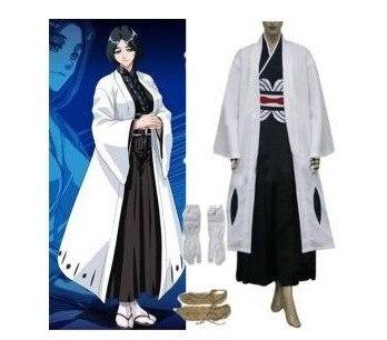 Anime lejía Cosplay-lejía 4 División capitán Unohana Retsu cosplay disfraz mejor disfraz para Halloween Freeshipping