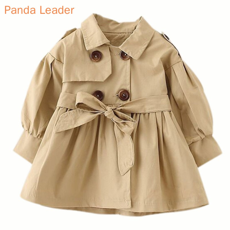 Baby Jacket Casaco Infantil Girl Baby Coat 2019 Spring Baby Jas Trench Double Breast Windbreaker for