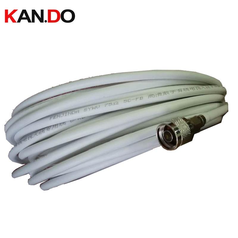 Conector N incluido, Cable Coaxial de 5-40m, 75-5 para Booster Telecom, parte...