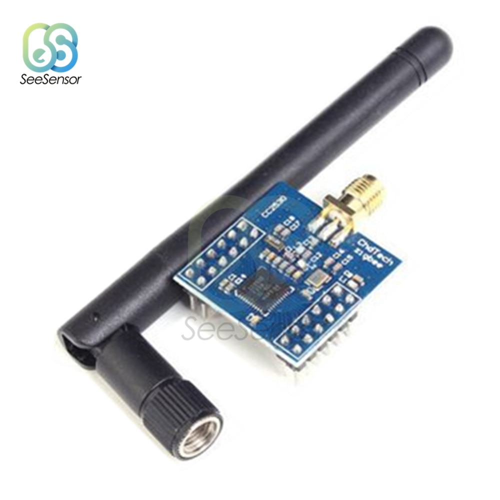 Placa de desarrollo de núcleo inalámbrico Serial Zigbee módulo UART Ti CC2530 puerto Serial módulo inalámbrico DIY Electronic para Arduino