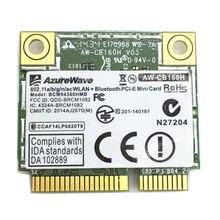 For AW-CB160H 802.11abgn/11ac WiFi+BT Bluetooth 4.0 Broadcom BCM94360HMB 1300Mbps Mini PCI-E Card
