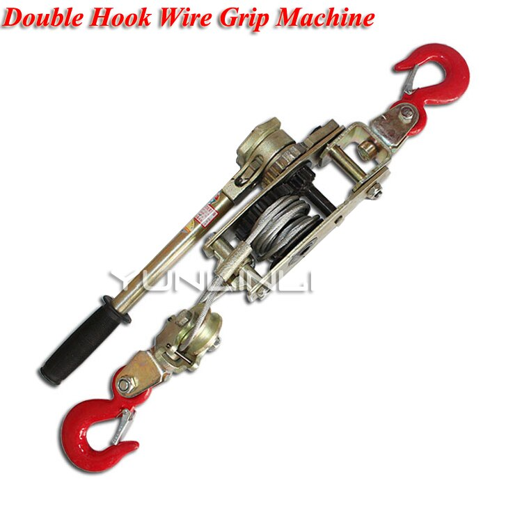 Multi-fonction Double crochet tendeur câble tendeur manuel tendeur électricien tirer câble pince SWT102-4T