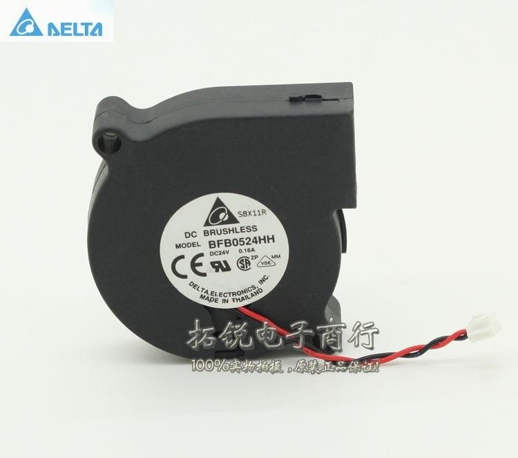 Delta BFB0524HH 5CM 50MM 50*50*15MM 5015 24V 0.16A turbo soplador centrífugo ventilador conducir