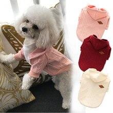 Petit pull dhiver en tricot pour chiens   Vêtements dextérieur, pull chat chaud, vêtements pour petits chiens, Costume pour animaux