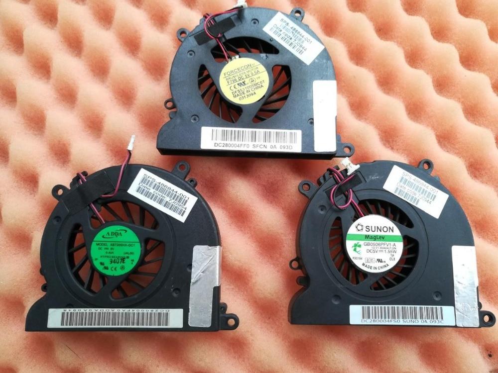 Nuevo refrigerador para HP CQ40 CQ41 DV4 DV4T CQ45 ventilador de refrigeración portátil 486844-001 499089-001 GB0506PFV1-A AB7205HX-GC1 KSB0505HA-7K88