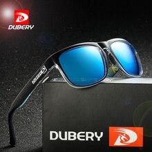 Солнцезащитные очки-авиаторы DUBERY мужские, винтажные цветные солнечные очки-авиаторы, модные брендовые Роскошные зеркальные, с защитой от у...