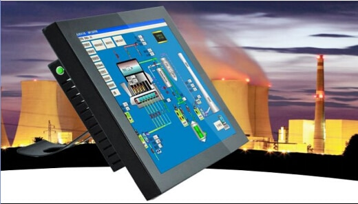 OEM 15'' Capacitive Industrial Touch Panel PC KWIPC-15-8 Dual i3 3.5G CPU 32G Disk 1024 x 768 Resolution COMx6,USB2.0x2,USB3.0x3