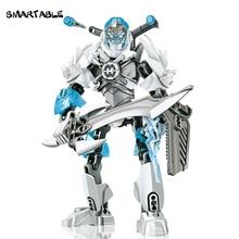 Smartable Hero usine nouvelle arrivée STORMER bloc de construction ensemble jouets pour enfants meilleur cadeau pour noël 69 pièces/ensemble cadeau garçon