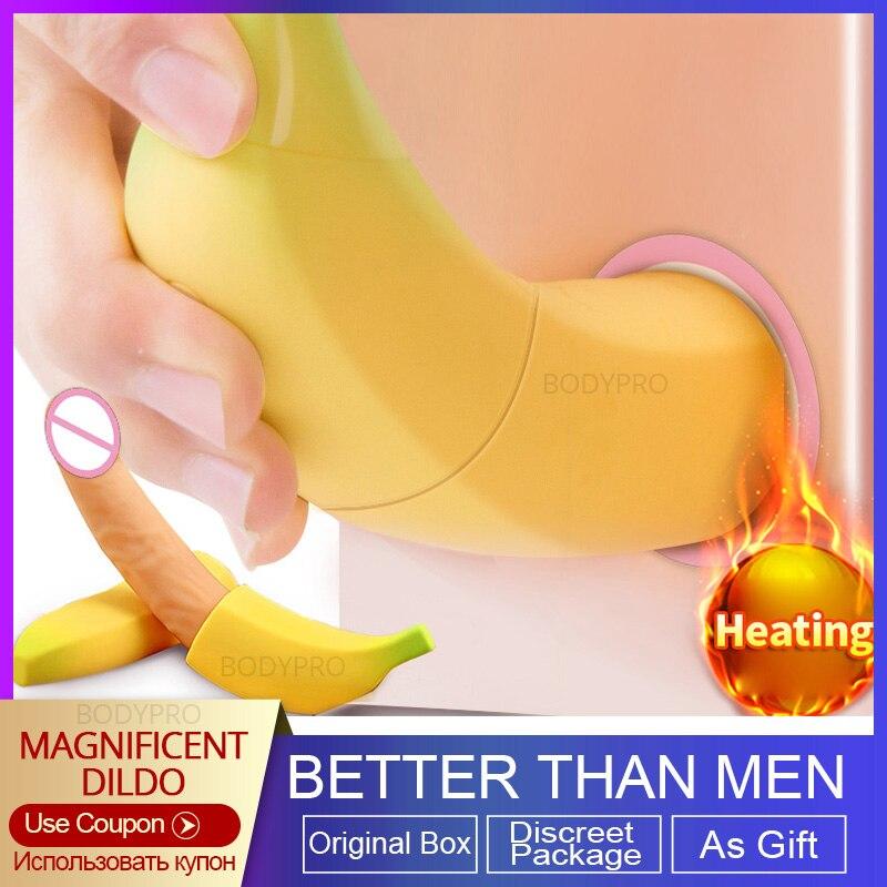 Фаллоимитатор BODYPRO для женщин, реалистичный огромный фаллоимитатор для пениса, Стимулятор точки G для женской мастурбации, секс-игрушки