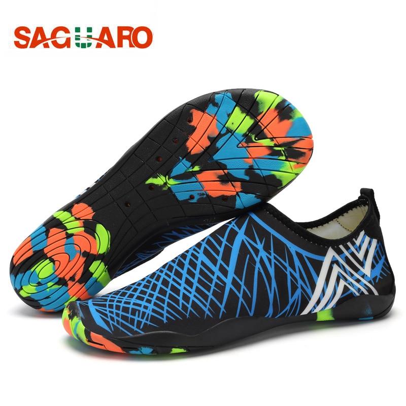 SAGUARO Men Women Water Shoes Quick Drying Beach Barefoot Aqua Shoes Outdoor Unisex Yoga Skin Shoes Aquaschuhe Wading Schuhe