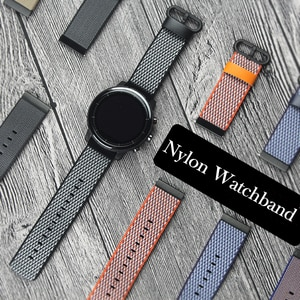 20mm or 22mm Nylon watch band strap for Samsung Gear S3 S2 Classic Frontier Gear sport huawei watch 2 huami watch watchbands