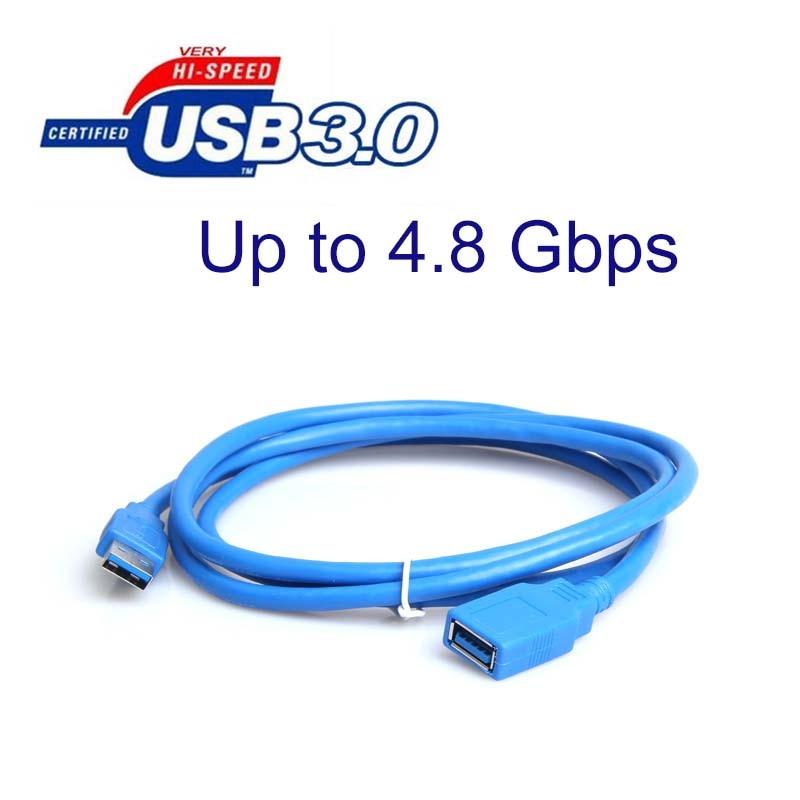 Cable de extensión de alta velocidad USB 3,0 de macho A hembra...