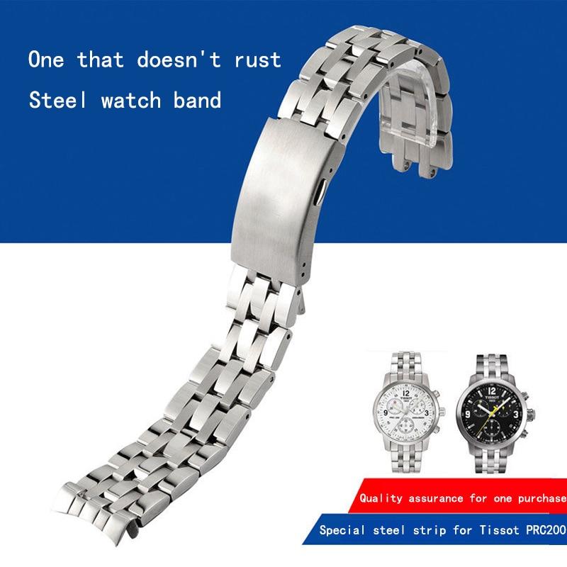 مناسب لـ Tissot 1853 ، حزام فولاذي ، سلسلة PRC200/T17/T461/T014