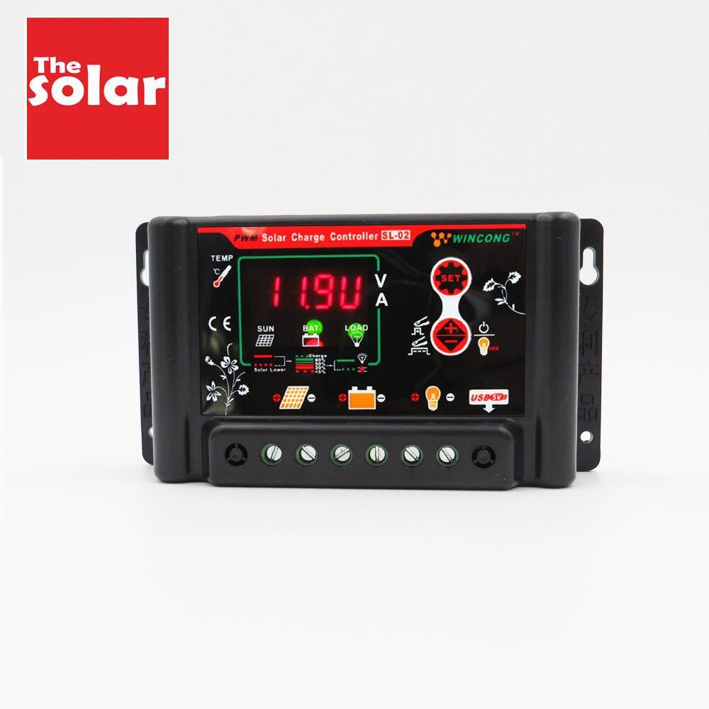 Solar Panel Laderegler 30 20 10 EINE Regler 12 24 3,7 12,8 11,1 14,8 22,2 25,6 V LI LI-ION NI-MH LiFePO4 Batterie