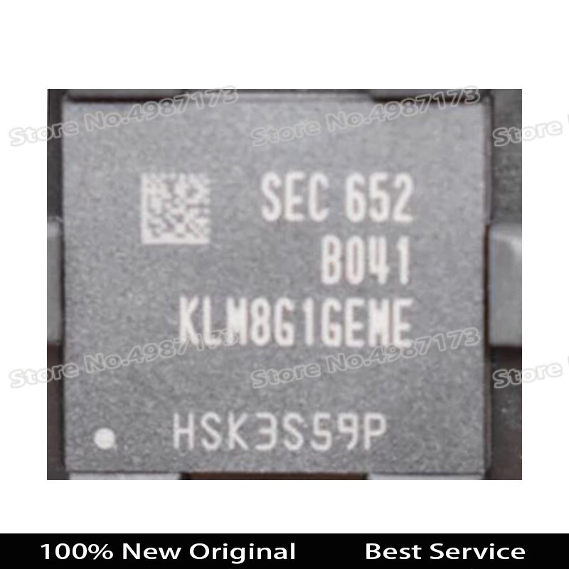 Nueva llegada Original 100% BGA 1 Uds KLM8G1GEME-B041 en Stock KLM8G1GEME B041