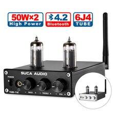 Nobsound HiFi Mini TPA3116D2 Tube hybride amplificateur de puissance stéréo casque Amp Bluetooth 4.2 récepteur 50W * 2