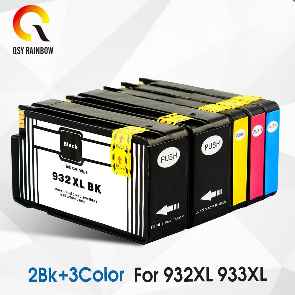 Картриджи Сменные CMYK 932XL 933XL для HP 932 HP 933 HP 932 933, чернильный картридж для Officejet 6100 6600 6700 7110 7612
