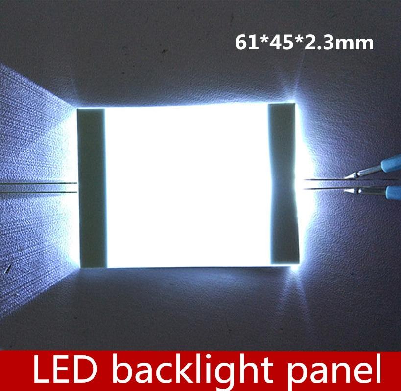 Pedido do Fabricante da Placa da Luz de Fundo do Diodo Emissor de Luz do Luminoso de 10 Pces Ponto Toque Casa Inteligente 61*45*2.3mm