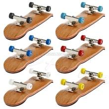 Professionelle Typ Lager Räder Skid-Pad Ahorn Holz Finger Skateboard Legierung Stent Lager Rad Griffbrett Neuheit Spielzeug