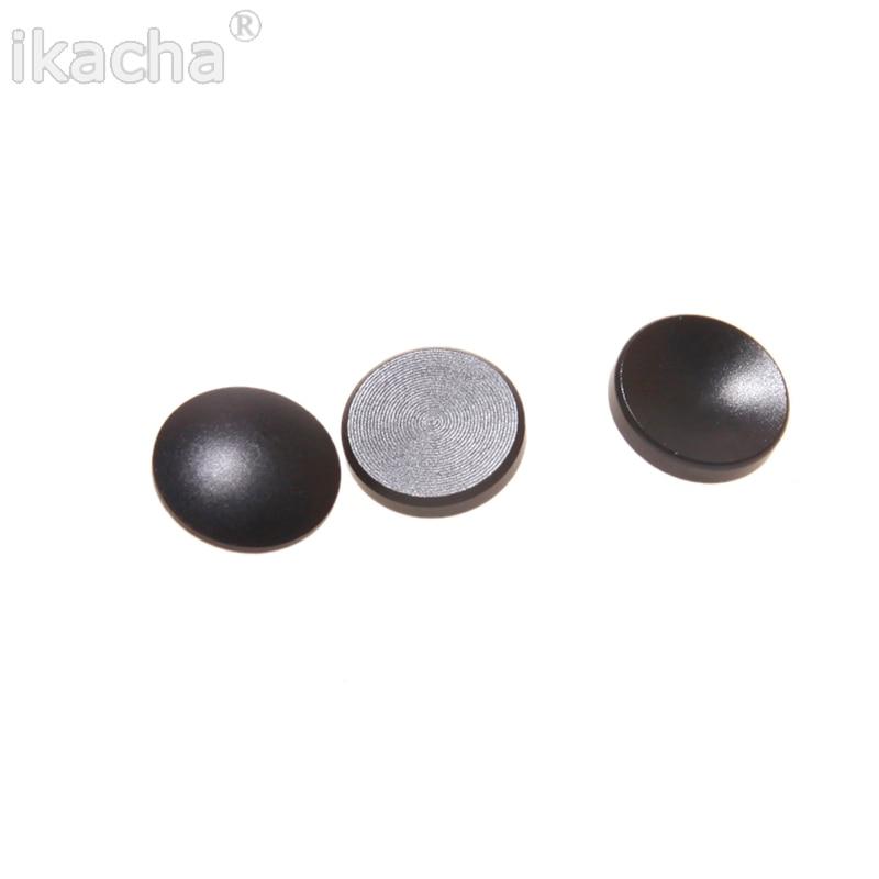 3 uds. Negro Metal cóncavo suave disparador botón para Fuji X100 X20 X10 para Leica M4 M6 M7 M8 M9 SLR cámaras envío gratis
