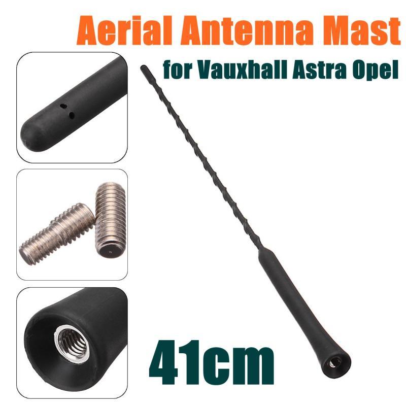 41 см 16 мм автомобильная антенна для крыши мачты w/Адаптеры Замена для Vauxhall Astra Opel