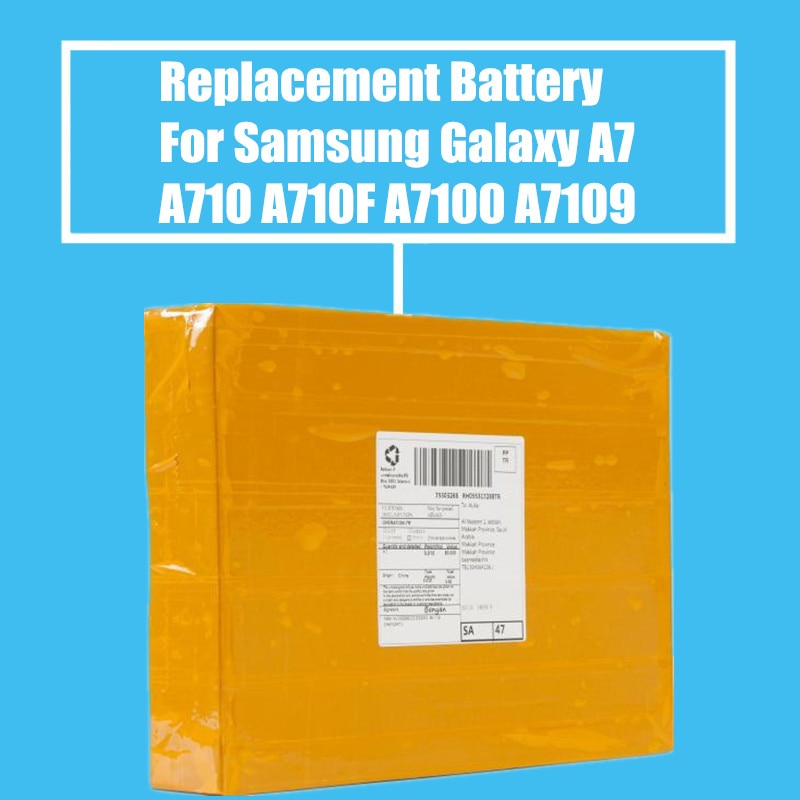 50 штук упак. запасная батарея 3300 мАч для Samsung 2016 Edition Galaxy A7 A710F A7100 A710F A7100 A7109 A7108 высокое качество