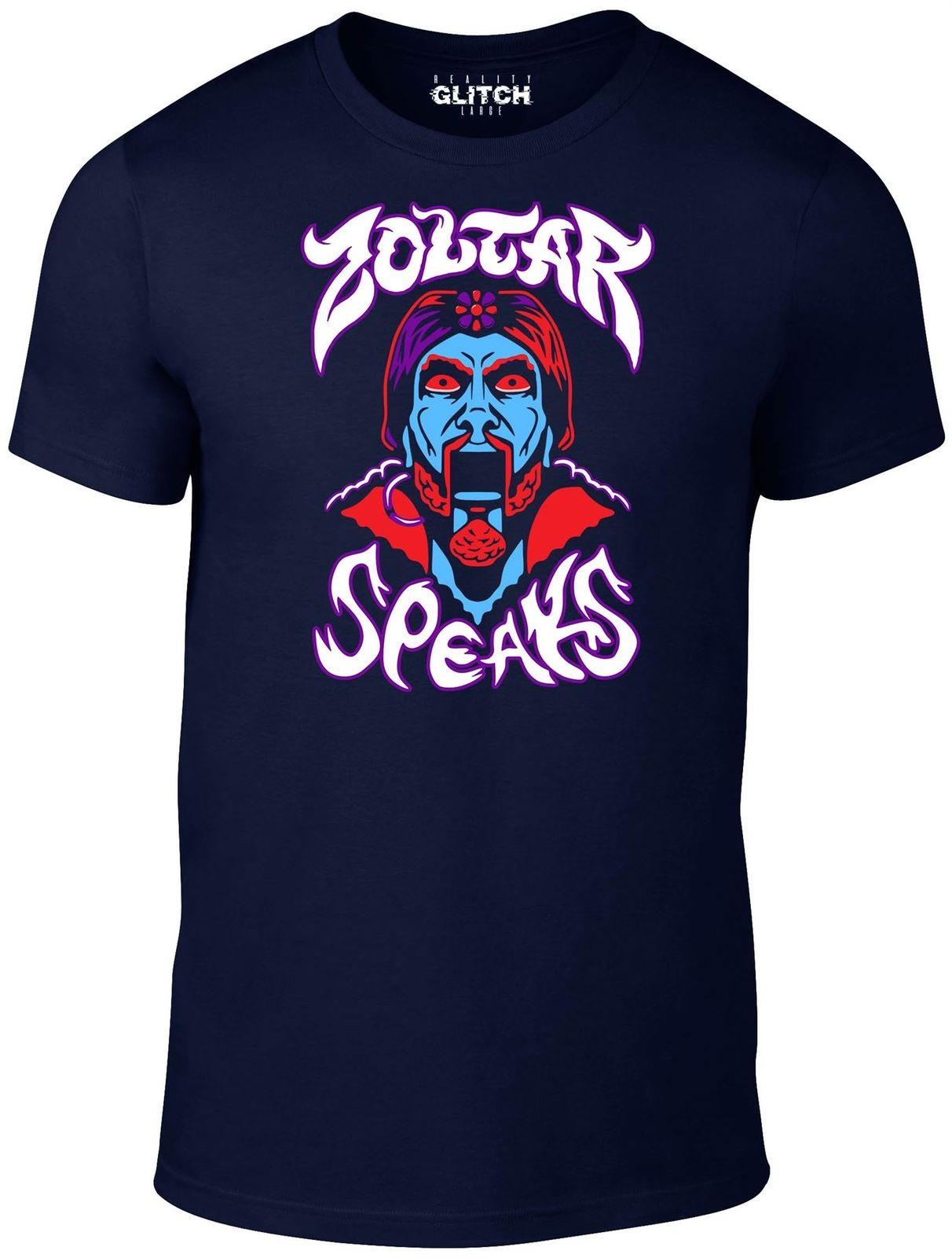 Reality Glitch hombres Zoltar Speaks camiseta Cool Casual pride camiseta hombres Unisex nueva moda camiseta envío gratis camisetas ajax