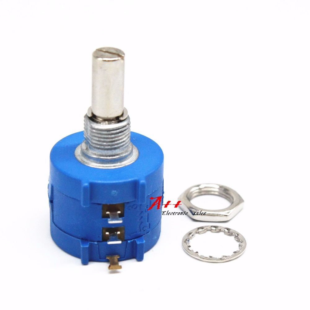 3590 S 3590S-104 100 K ohm Precisão Multiturn Potenciômetro 10 Resistor Ajustável Anel
