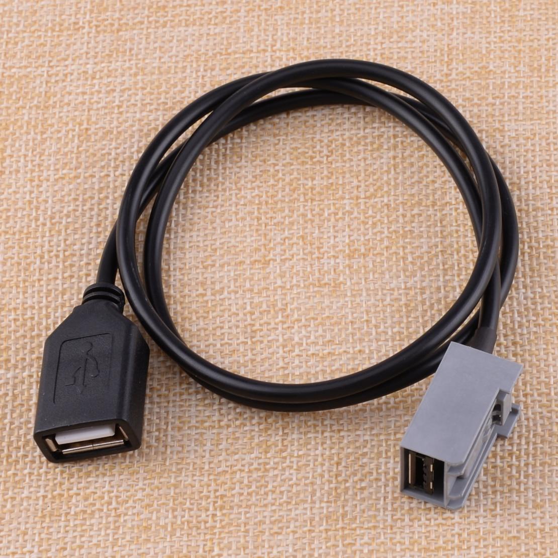 CITALL Авто USB Женский Кабель адаптер AUX порт Подходит для Honda Civic Jazz CR-V Accord Odyssey 2009 2010 2011 2012 2013