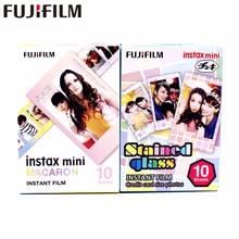 20 feuilles Fujifilm Fuji Instax Mini 8 nouveau Macaron + vitrail Film pour 7 8 9 50s 7s 90 25 partager SP-1 SP-2 appareil photo instantané