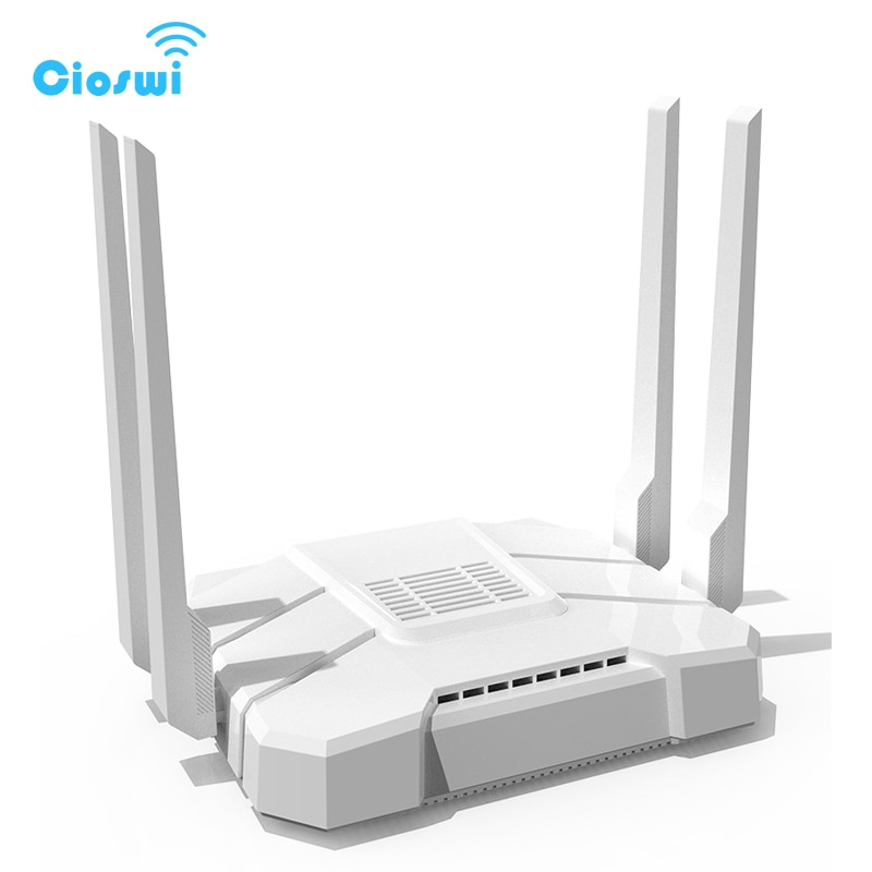 4g 3g wifi FDD/TDD LTE 2,4 Ghz 5,8 Ghz doble banda routers gigabit WRT abierto inglés versión de firmware de alta calidad
