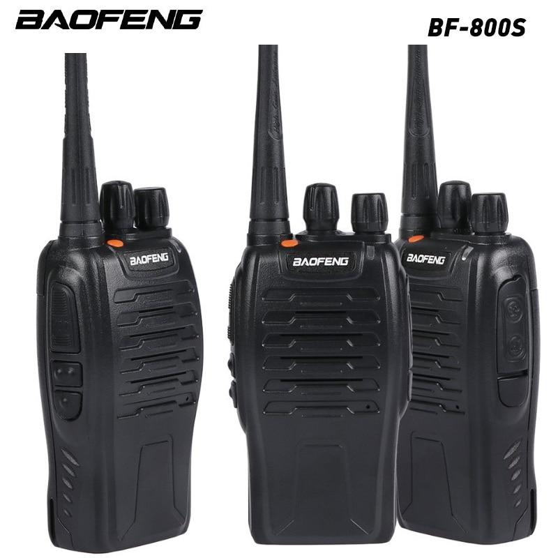 1 pçs baofeng BF-800S portátil walkie talkie UHF400-470MHZ talkie em dois sentidos para o hotel viagem aventura construção local ue/eua plug