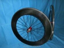 Nouveau 700C 88mm jante tubulaire vélo de route 3K UD 12K roues de vélo en fibre de carbone avec moyeux Powerway R13 20.5 23 largeur livraison gratuite