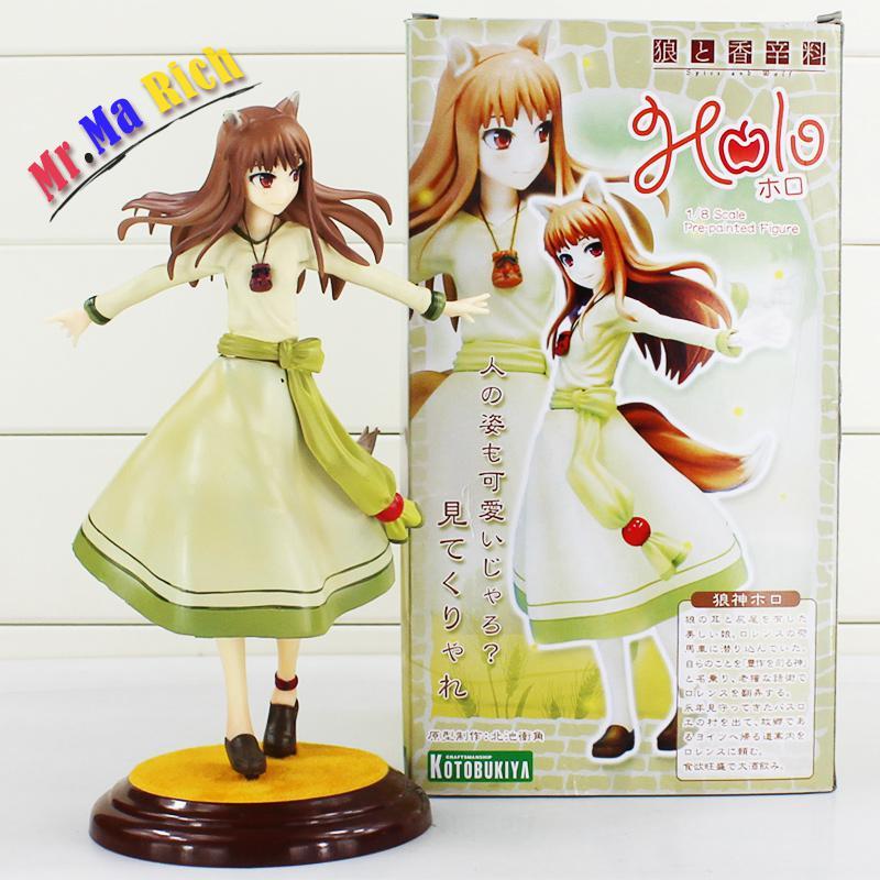 Figuras de Anime japonés Spice And Wolf Horo Pvc figura de acción juguete colección Medel Toy