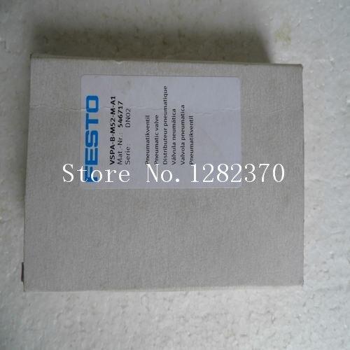 [SA] nueva venta Especial original válvula solenoide FESTO VSPA-B-M52-M-A1 efectivo 546.717