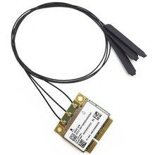 40 cm MHF4 Antenler + AW-CB160H BCM94360HMB BCM94360 Yarım Mini pci-express 802.11AC 1300 Mbps Kablosuz WIFI WLAN Bluetooth4.0 kart