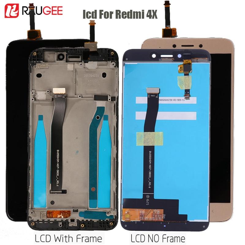 Display für Xiaomi Redmi 4X Lcd touch Screen Display Digitizer montage Ersatz für Redmi 4X Pro Display Getestet Lcd Teile