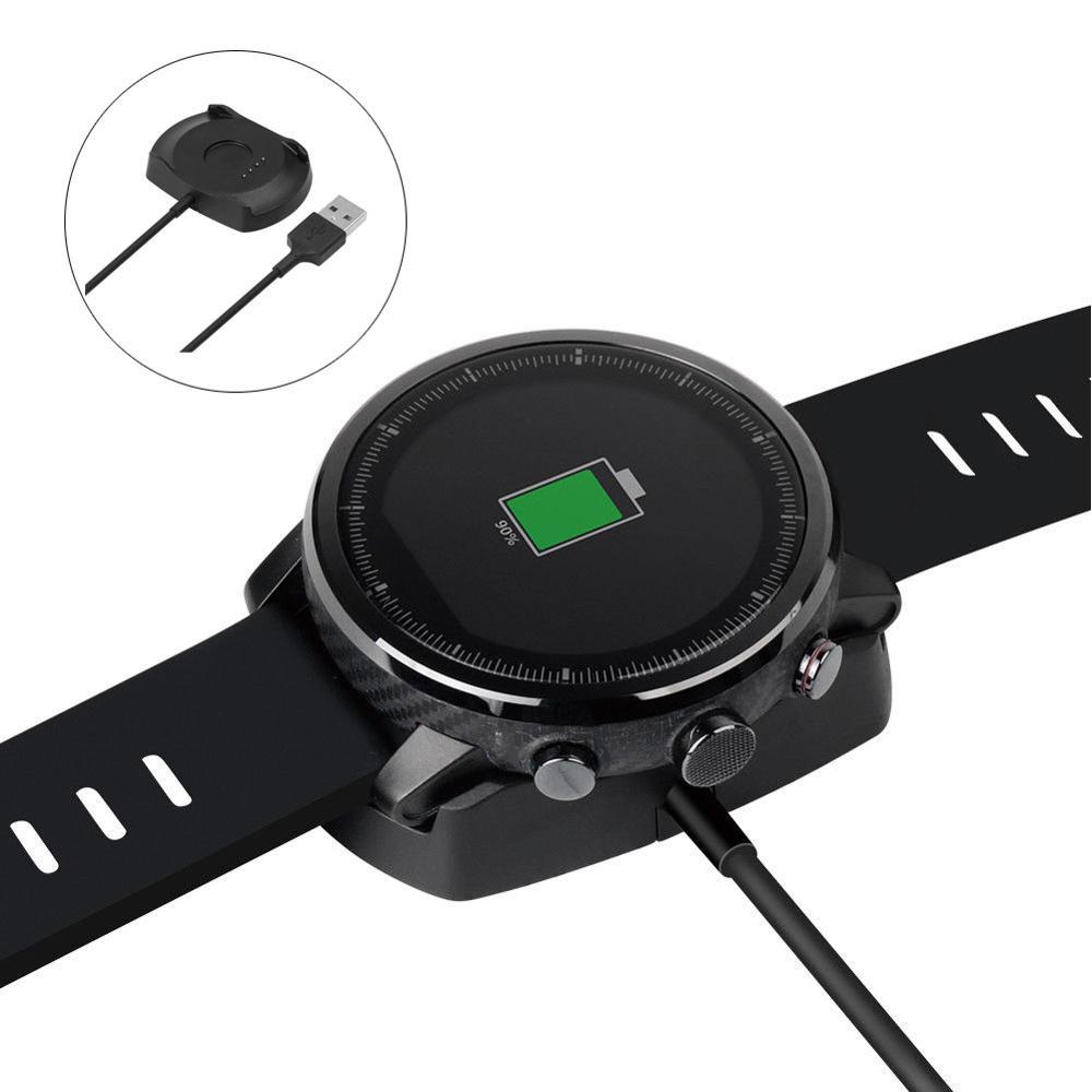 Pulsera inteligente para reloj Amazfit Stratos 2/2S, de viaje, ligera, antideslizante, con protección de circuito y cargador para pulsera inteligente Amazfit Stratos 2/2S